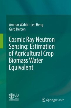 Cosmic Ray Neutron Sensing: Estimation of Agric...