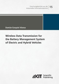 Wireless Data Transmission for the Battery Management System of Electric and Hybrid Vehicles