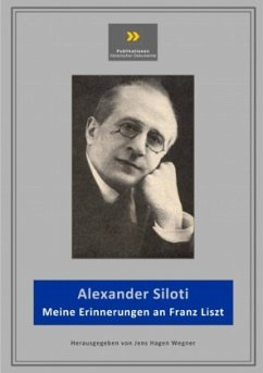 Meine Erinnerungen an Franz Liszt - Wegner, Jens-Hagen