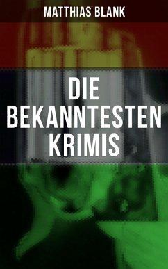 9788027215669 - Blank, Matthias: Die bekanntesten Krimis (eBook, ePUB) - Kniha