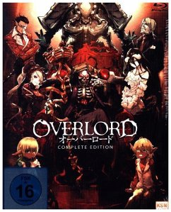 Overlord - Complete Edition (13 Episoden) BLU-RAY Box
