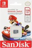 SanDisk MicroSDXC 100MB 128GB Nintendo SDSQXAO-128G-GN6ZA
