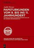 Papsturkunden vom 9. bis ins 11. Jahrhundert (eBook, PDF)
