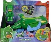 Simba 109402085 - PJ Masks Gecko mit Geckomobil, Spielfiguren Set, bunt