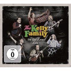 We Got Love-Live (2cd+2dvd) - Kelly Family,The