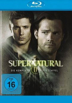 Supernatural: Die komplette 11. Staffel BLU-RAY Box - Jared Padalecki,Jensen Ackles,Misha Collins