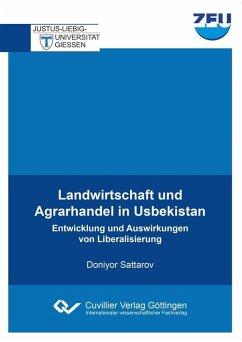 Landwirtschaft und Agrarhandel in Usbekistan (eBook, PDF)