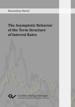 The Asymptotic Behavior of the Term Structure of Interest Rates (eBook, PDF)