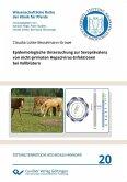 Epidemiologische Untersuchung zur Seroprävalenz von nicht-primaten Hepacivirus-Infektionen bei Vollblütern (eBook, PDF)