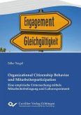 Organizational Citizenship Behavior und Mitarbeiterpartizipation (eBook, PDF)
