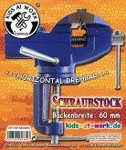 Corvus A600380 - Schraubstock, gross 60 mm, Kids at Work