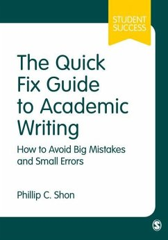 Quick Fix Guide to Academic Writing