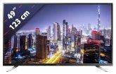 Sharp LC-49CUG8062E 123 cm (49 Zoll) Fernseher (4K / Ultra HD)