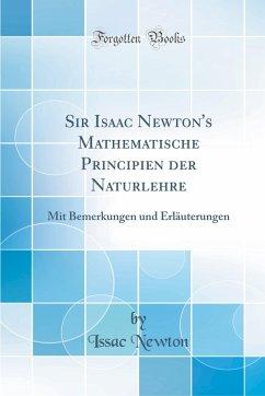 Sir Isaac Newton´s Mathematische Principien der...