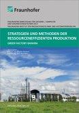 Strategien und Methoden der ressourceneffizienten Produktion.