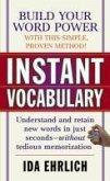 Instant Vocabulary (eBook, ePUB)