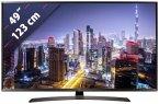 LG 49UJ634V 108 cm (43 Zoll) Fernseher (4K / Ultra HD, DVB-T2/ DVB-S2/ DVB-C, Smart TV)