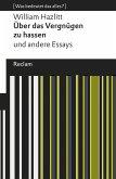 Über das Vergnügen zu hassen und andere Essays (eBook, ePUB)