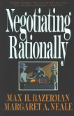 Negotiating Rationally (eBook, ePUB)
