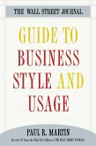The Wall Street Journal Guide to Business Style and Us (eBook, ePUB)
