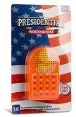 Donald Trump Wortmaschine / Presidential Word Machine