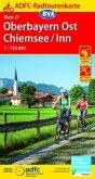 ADFC-Radtourenkarte 27 Oberbayern Ost / Chiemsee / Inn 1:150.000, reiß- und wetterfest, GPS-Tracks Download