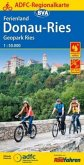 ADFC-Regionalkarte Ferienland Donau-Ries / Geopark Ries, 1:50.000, reiß- und wetterfest, GPS-Tracks Download