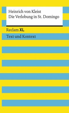Die Verlobung in St. Domingo (eBook, ePUB) - Kleist, Heinrich Von
