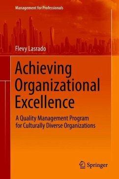Achieving Organizational Excellence - Lasrado, Flevy