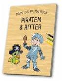 Malbuch Ritter & Piraten