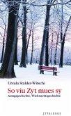 So viu Zyt mues sy (eBook, ePUB)