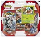 Pokemon, Sonne & Mond 04, 3-Pack Blister (Sammelkartenspiel)