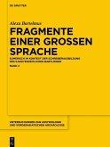 Fragmente einer grossen Sprache (eBook, PDF)