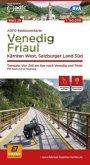 ADFC-Radtourenkarte Venedig, Friaul - Kärnten West, Salzburger Land Süd, 150.000, reiß- und wetterfest, GPS-Tracks Downl