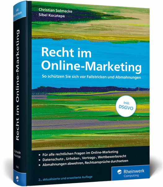 Recht im Online-Marketing - Solmecke, Christian; Kocatepe, Sibel