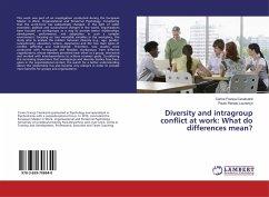 Diversity and intragroup conflict at work: What do differences mean? - França-Cavalcanti, Carine; Lourenço, Paulo Renato