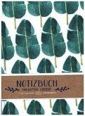 Notizbuch - Blätter (All about green)