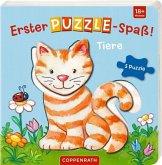 Erster Puzzle-Spaß! Tiere
