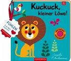 Mein Filz-Fühlbuch: Kuckuck, kleiner Löwe!