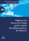 Diffusion des Internet der Dinge auf die mittlere Beschäftigungsebene der Industrie