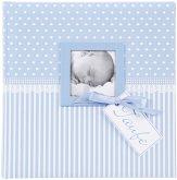 Goldbuch Sweetheart blau 25x25 60 Seiten Taufalbum 24802