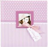 Goldbuch Sweetheart pink 25x25 60 Seiten Taufalbum 24801