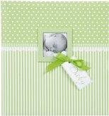 Goldbuch Sweetheart grün 30x31 60 Seiten Babyalbum 15803