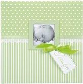 Goldbuch Sweetheart grün 25x25 60 Seiten Taufalbum 24803