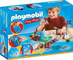 PLAYMOBIL® 9328 Play Map Piraten