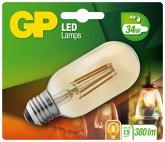 GP Lighting LED Vintage T45 Gold E27 4W (30W)