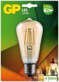 GP Lighting LED Vintage ST64 Gold E27 4W (37W)