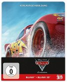Cars 3: Evolution (Blu-ray 3D + Blu-ray + DVD, Steelbook)