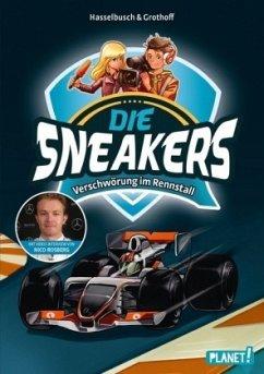 Verschwörung im Rennstall / Die Sneakers Bd.3 (Mängelexemplar) - Hasselbusch, Birgit; Grothoff, Stefan