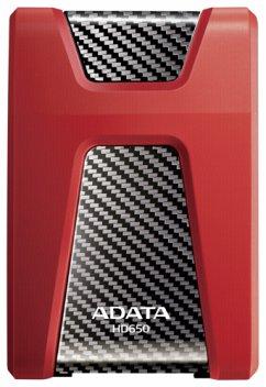 ADATA externe HDD HD650 Red 1TB USB 3.0